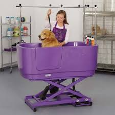 1poly pro lift grooming tub
