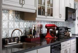 metal backsplash tiles armstrong ceilings residential kitchen wall panels uk resimagecaption
