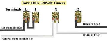tork timers and manuals Tork Time Clock Wiring Diagram applies to all model numbers of tork 1101 timer tork 1104m 208 240v mechanism only same as ge 15601 buy 1104m timer Tork Time Clock Wiring Diagrams