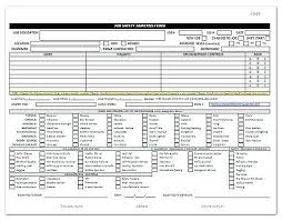 Job Safety Analysis Template Free Beauteous Job Site Analysis Template Flybymediaco