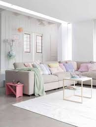 Living Room In Pastel Colors  COCO LAPINE DESIGNCOCO LAPINE DESIGNLiving Room Pastel Colors
