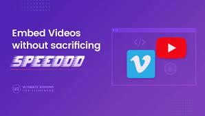 Elementor Video Widget – Ultimate Addons for Elementor