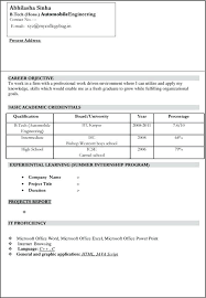 Sample Resume For Freshers Pdf Marketing Resume Format Strategic ...