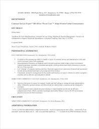 Sample Receptionist Resume Receptionist Samples Sample Medical Unique Resume Examples For Receptionist Job