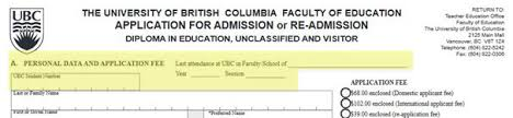 Tips For Completing Application Forms Application Form Tips Early Childhood Education Program
