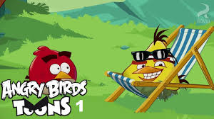 Angry Birds Toons ep 01 temporada 1 'hora do chuck ' - YouTube