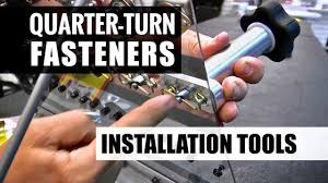 Quarter Turn Dzus Fastener Installation Tools