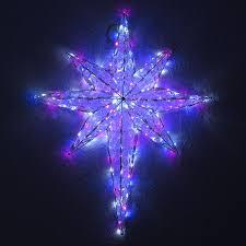 Großer Stern Mit 192 Farbigen Led Mit Programme