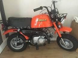 honda honda gorilla 1980 6v monkey bike