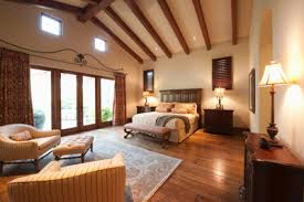 Awesome First Floor Master Bedroom