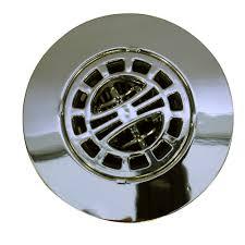 hair catcher shower drain cover in chrome
