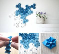 wall flower decoration ideas origami flowers wall decor ideas projects paper flower wall decoration ideas