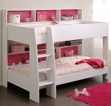 Bunk Beds for Small Rooms | Cute Kids Bunk Beds Level In White Nuance For  Small