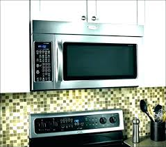 ge profile stainless steel countertop microwave oven pes7227slss installation manual home improvement ideas