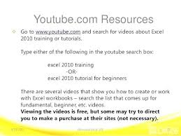 free excel 2010 excel videos excel tutorial video in free