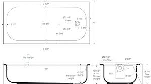 standard bathtub dimensions bathtub sizes standard