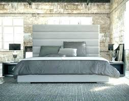 king bed leather headboard king bed leather rd wood frame with tufted extra high size bedroom