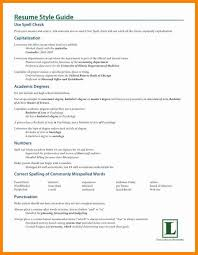 Capitalization In Resume Archives 1080 Player