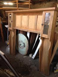 Kitchen Mantel Original Timber Fireplace Surrounds Federation Trading