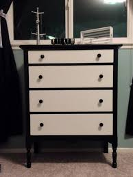 black and white dresser  things i could put in my house  pinterest