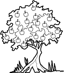 Apple Tree 69 Nature Printable Coloring Pages