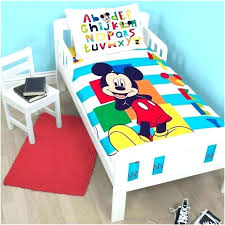 mickey mouse toddler bed set simplistic toddler mickey mouse bedding g5126381 mickey mouse cot interior decor