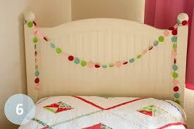 holiday dotty garland