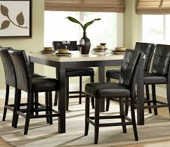 7 piece black dining room set. Tall Dining Room Chairs 17 Homelegance Archstone 7 Piece Counter Height Set W Black 01.jpg -