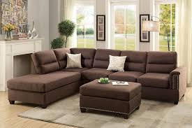 3pcs sectional reversible chaise sofa