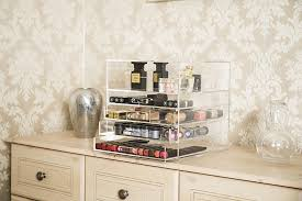 the most glamorous acrylic makeup organiser in the uk glamour living