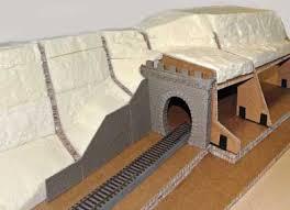Tunnel basteln vorlage / die 913 besten bilder zu pop up in 2020 | kirigami, karten. Wie Baut Man Einen Berg Modell Welten Modellbau Busch Modellbau Automodelle Spiel Und Bastelmaterial