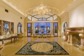 Marble flooring