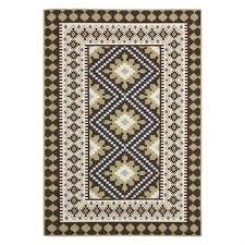 safavieh ver099 0624 chocolate and green veranda indoor outdoor rug lowe s canada