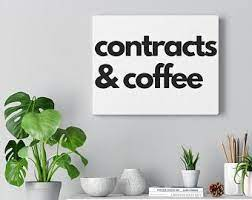 The prices in the real world tend to lag what the futures market shows, meaning that even though coffee as a commodity is a very volatile trading item, the price at the store or coffee shop stays. Coffee And Contracts Etsy