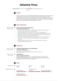 You know that you are great at handling social media, your peers know that too, but that will not land you the dream job. Social Media Marketing Specialist Resume Example Kickresume
