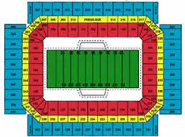 Alamodome Seating Chart Alamo Bowl Dome Info