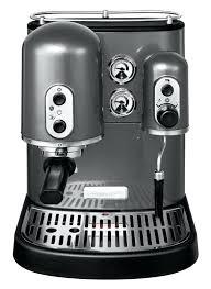 kitchen aid espresso artisan espresso machine pearl metallic kitchenaid espresso machine canada