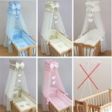 nursery crib bedding accessories cradle per set canopy