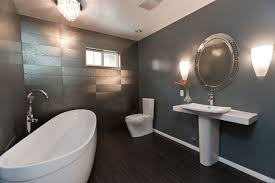 bathroom remodel gray. Modern Gray Bathroom Remodel Eclectic-bathroom I