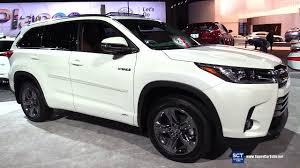 2017 Toyota Highlander Hybrid Limited - Exterior Interior ...