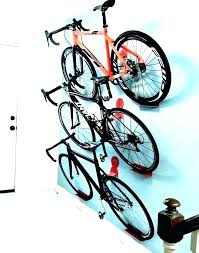 wall bike rack garage hangers for storage ceiling bicycle diy