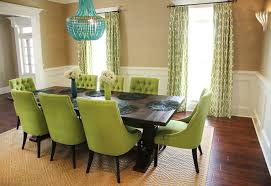 marvellous inspiration green dining room chairs 1
