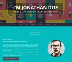 Best Solutions Of Personal Resume Website Template Also Layout ...
