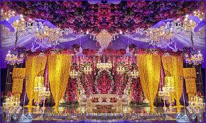 Marriage Set Design Tulips Event Best Pakistani Wedding Stage Decoration