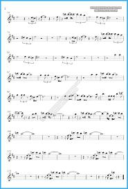 careless whisper tenor sax sheet music