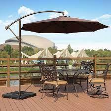 offset patio umbrella cantilever patio