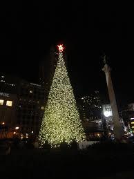 Holiday Cheer At San Franciscou0027s Top Hotels  7x7 Bay AreaChristmas Tree In San Francisco