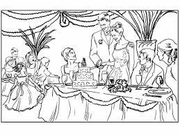 Matrimonio 8 Disegni Per Bambini Da Colorare