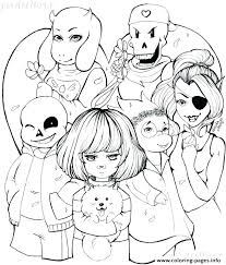 sans coloring pages book best of valentine s day free by undertale and papyrus col