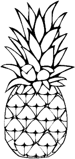 Small Picture A Sweet Caribbean Pineapple Coloring Page Download Print